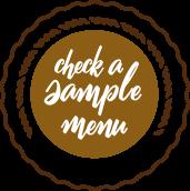 Check our sample menu icon