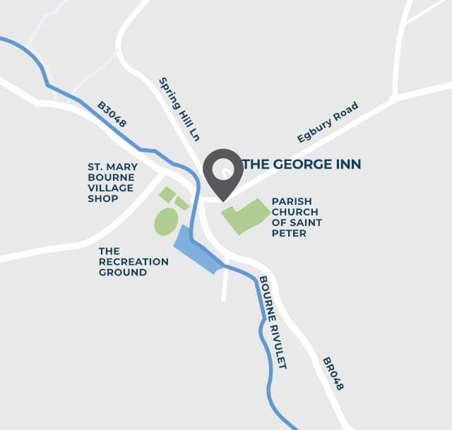 The George Inn map mobile